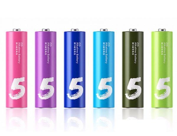 Батарейка LR6 Xiaomi Rainbow Zi5
