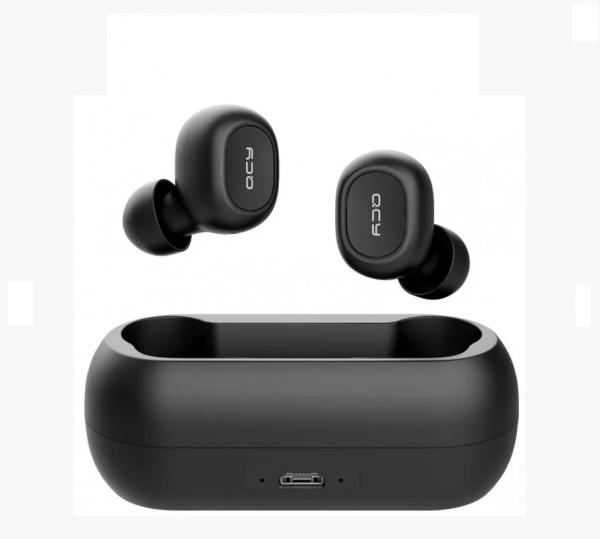 Беспроводные Наушники Xiaomi QCY T1С ( QS1 ) TWS Bluetooth Black