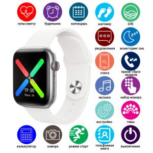 Smart Watch T500 Plus, голосовой вызов, white